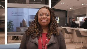 Toni Murphy in Xfinity Store