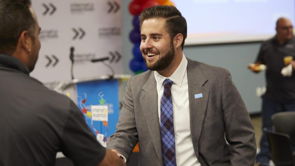 Kyle Biederwolf, External Affairs Manager.