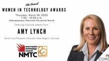The NMTC logo and Amy Lynch, Senior Vice President.