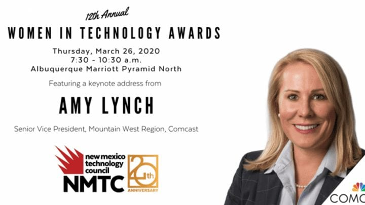 The NMTC logo and Amy Lynch, Senior Vice President.